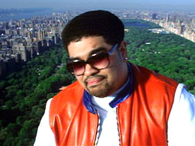 Heavy D, he performed on the television show A Different World once...he was delightful